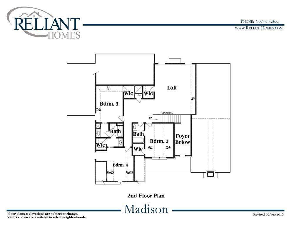 Available homes details reliant homes mobile for Madison home builders house plans