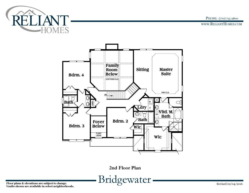 Bridgewater A Se Reliant Homes New Homes In Atlanta