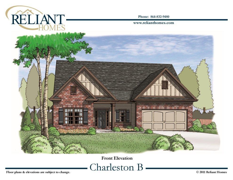 Sc charleston b reliant homes new homes in atlanta for Reliant homes floor plans