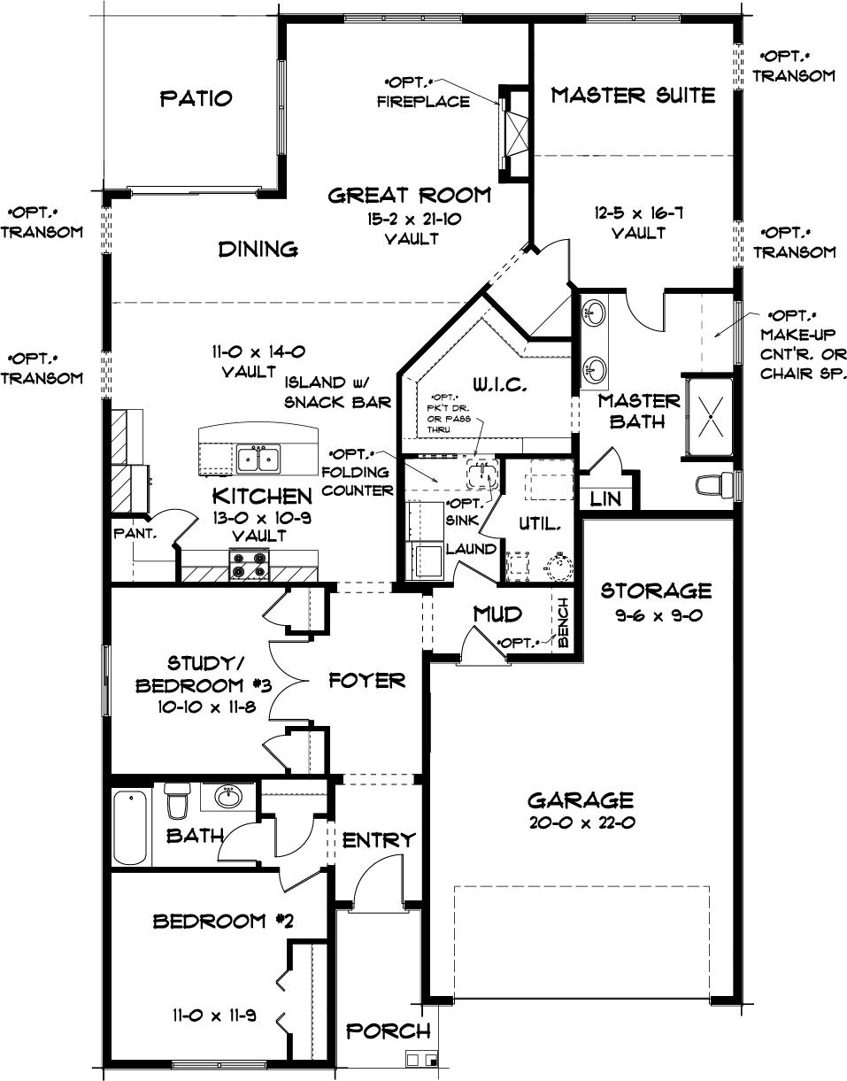 Norway Main Floor Plan