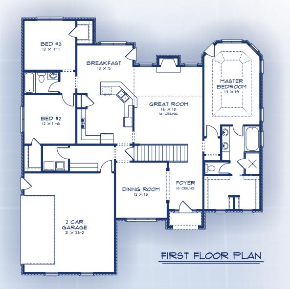 Bentley first floor