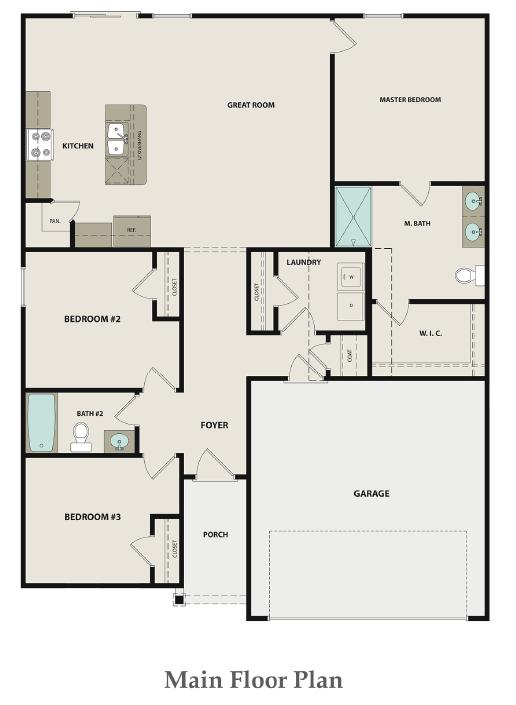 Spruce Floor Plan