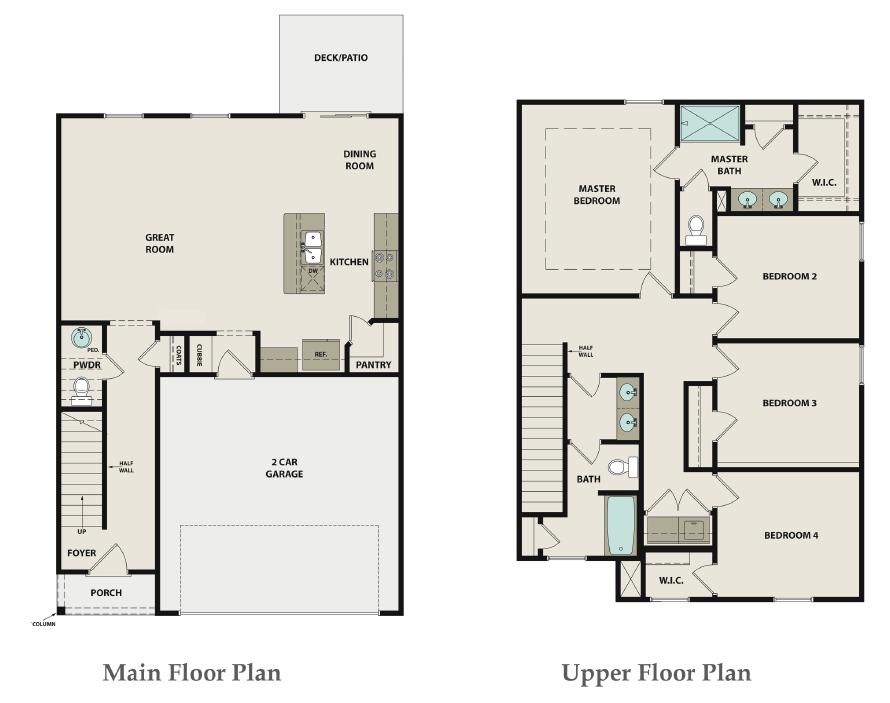 Cedar Floor Plan