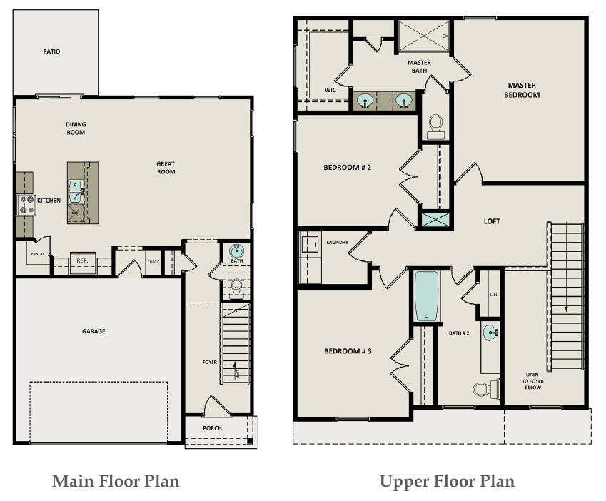 Brookshire Floor Plan
