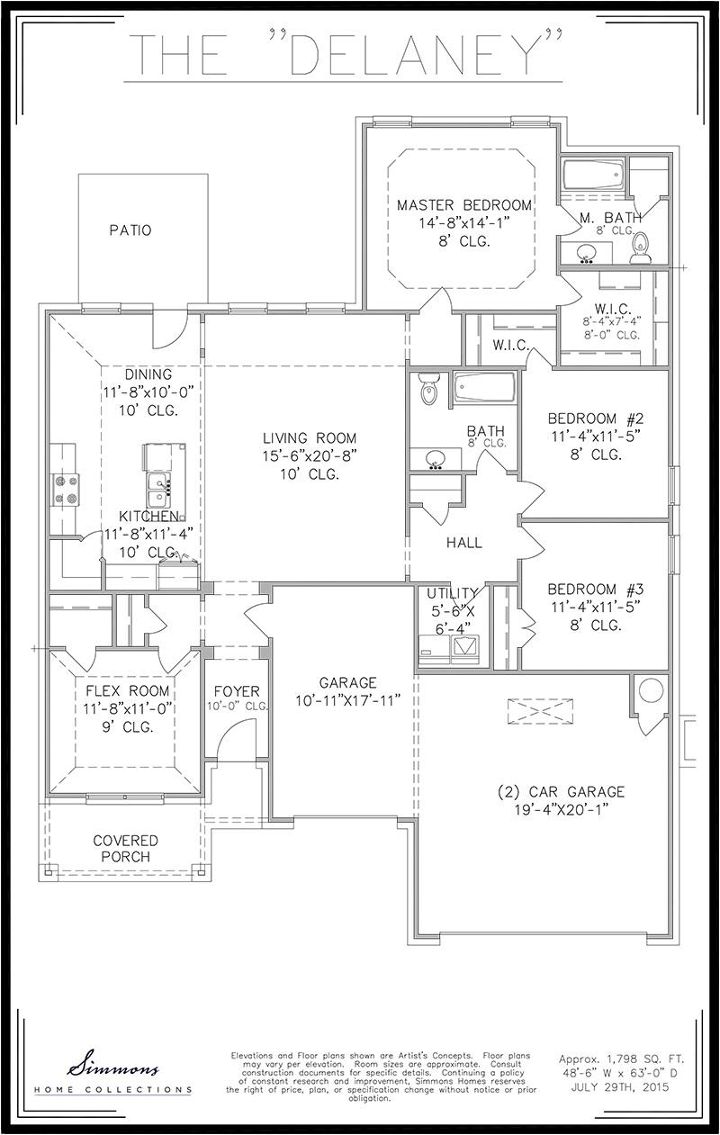 100 Tulsa Home Builders Floor Plans Tulsa Home