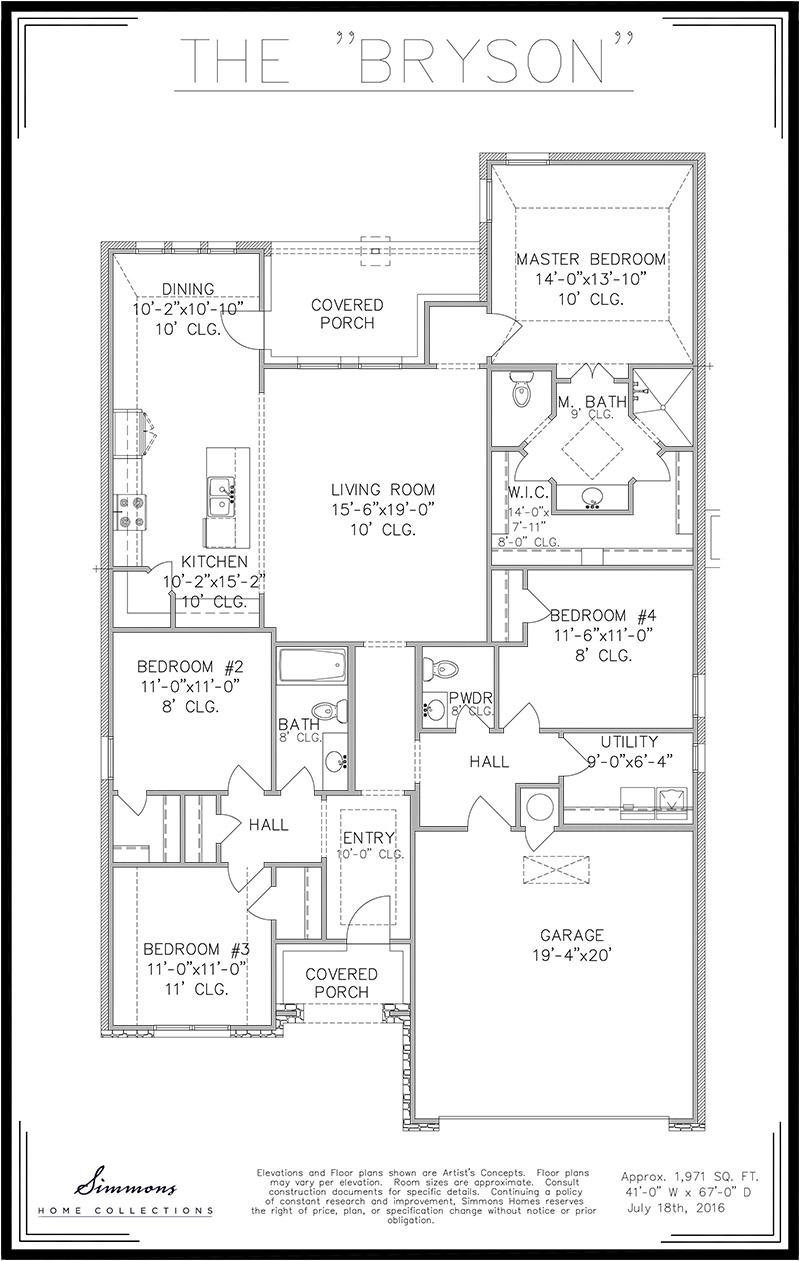 100 Tulsa Home Builders Floor Plans New Homes Sales