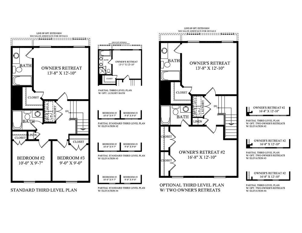 Mallard Landing – Weiss Homes Floor Plans