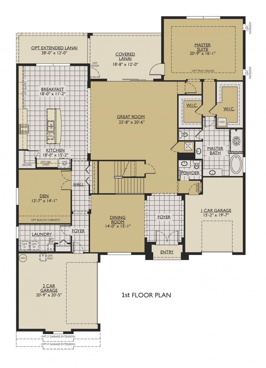 Jameson New Home Floor Plan – William Ryan Homes Floor Plans