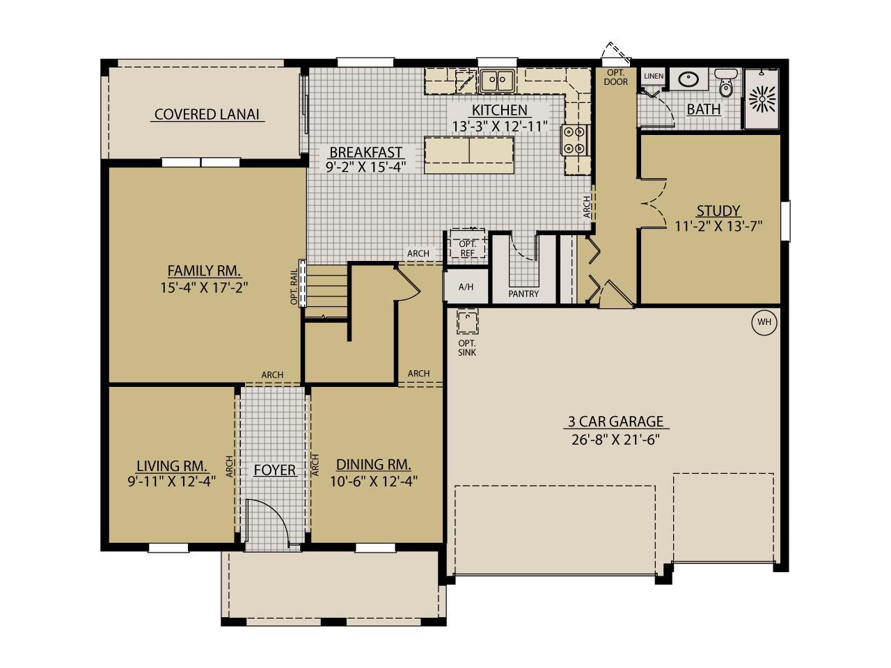 Jeppeson New Home Floor Plan – William Ryan Homes Floor Plans
