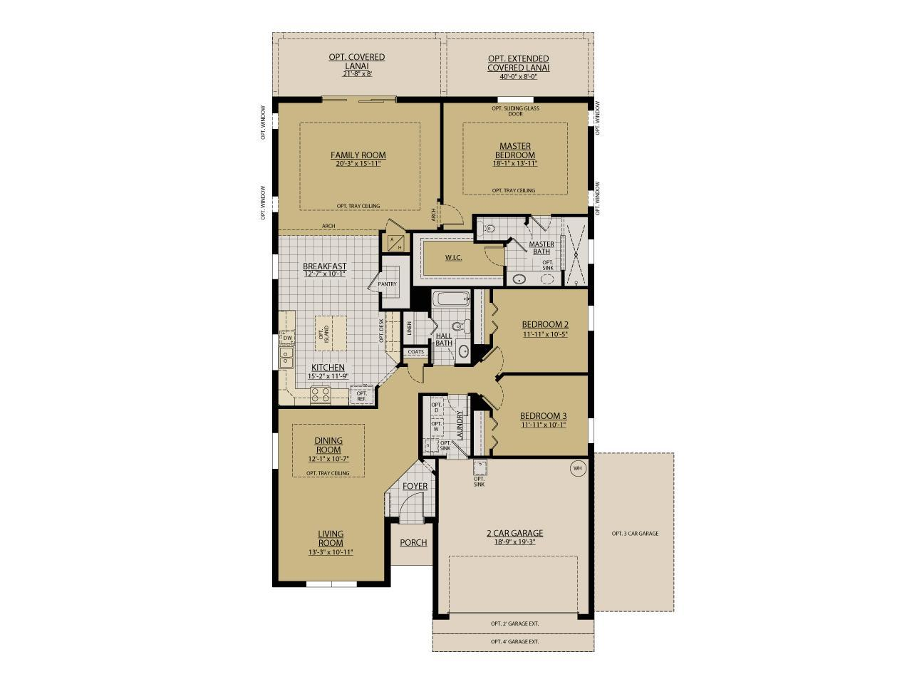 Ryan homes first floor master thefloors co for First floor master bedroom plans
