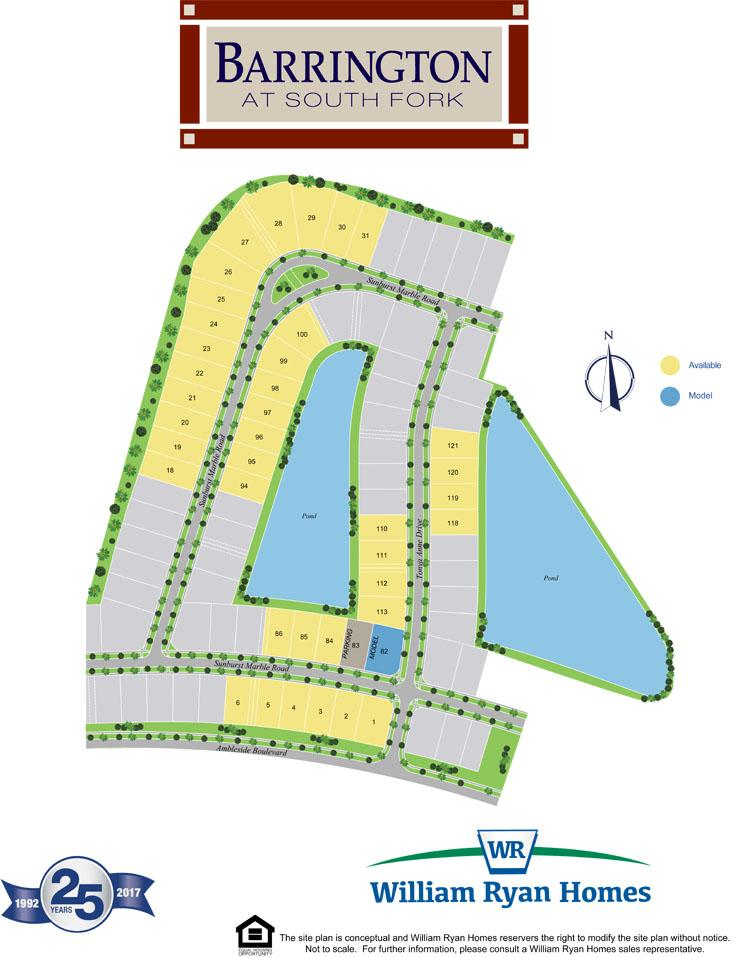 Barrington At South Fork New Home Community In Riverview Fl