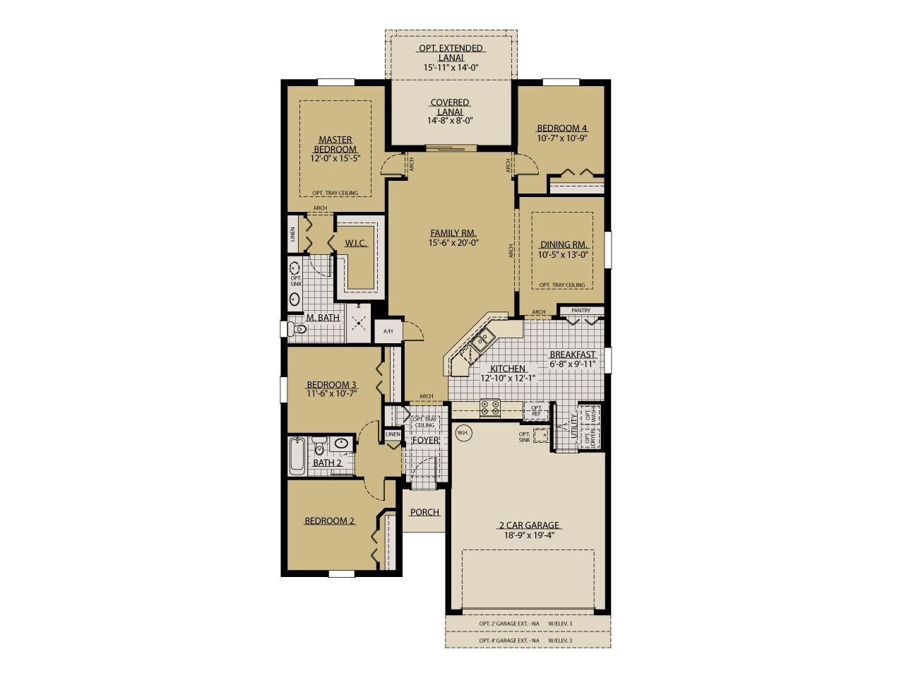 Sweetwater New Home Floor Plan – William Ryan Homes Floor Plans