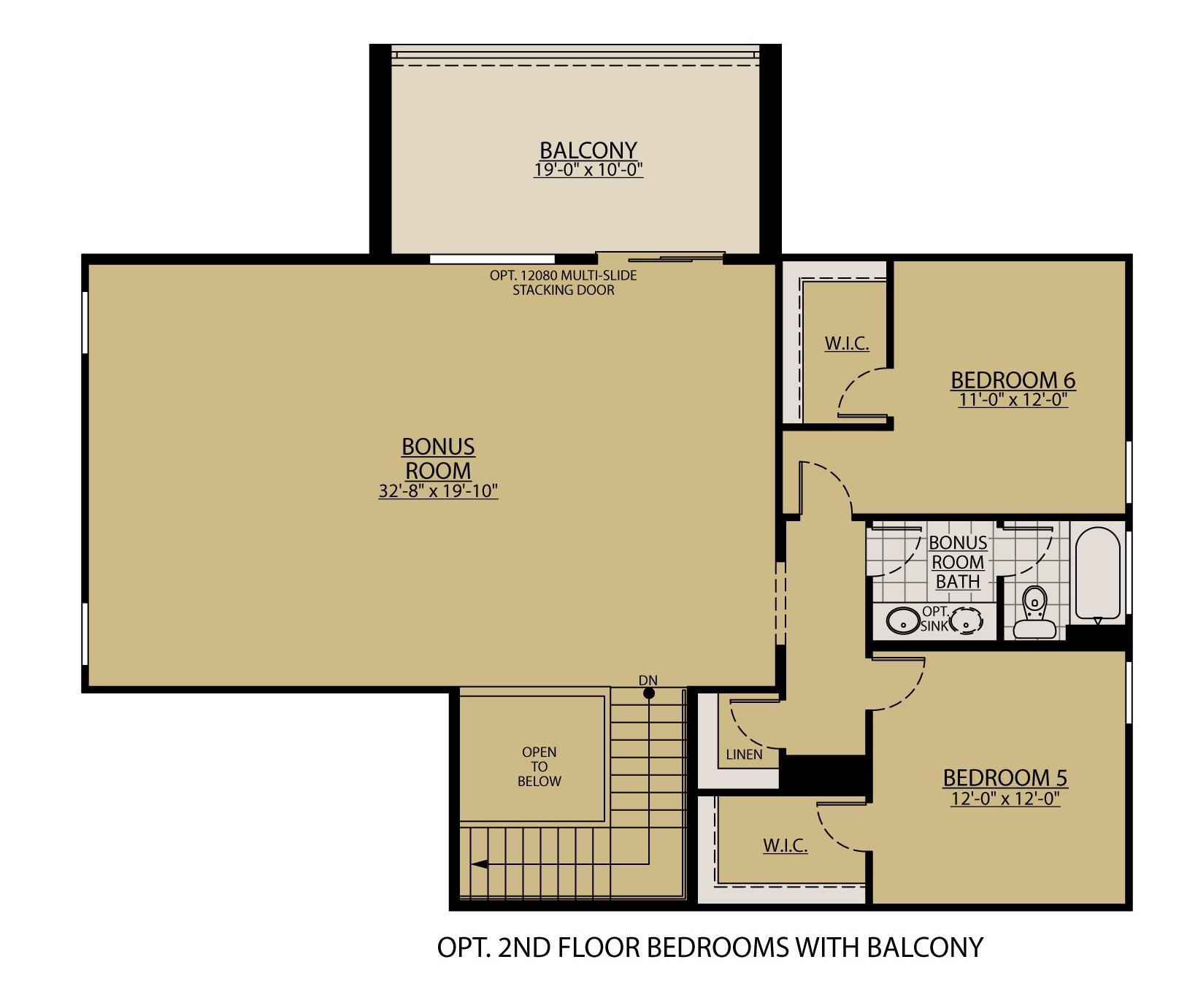 Aqua New Home Floor Plan William Ryan Homes