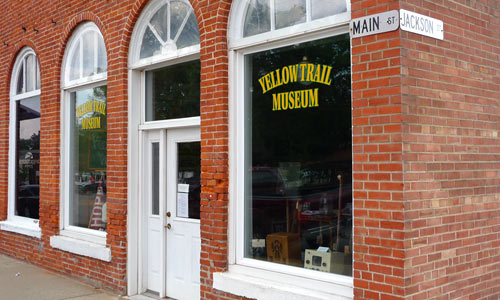 Yellow trail museum