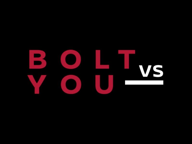 Bolt vs You