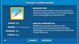Thought Cannon Wand: A Thorough Guide | Bloons Adventure Time TD