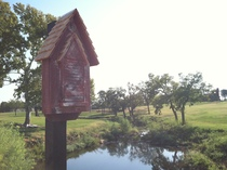 Bat House - The Regal - Red - Lifestyle Lake