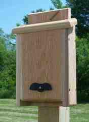 Bat House - Solid Cedar Bat House