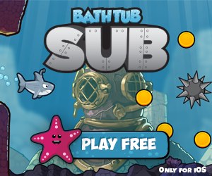 Bathtub Sub for iPhone and iPad