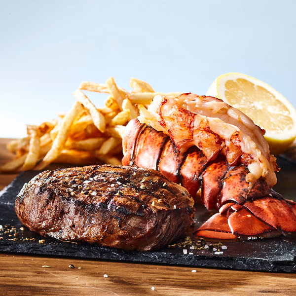 CLASSIC SURF & TURF (local ingredients)