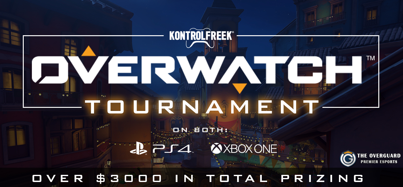 KontrolFreek Overwatch Tournament - The Overguard Open (Xbox) by The