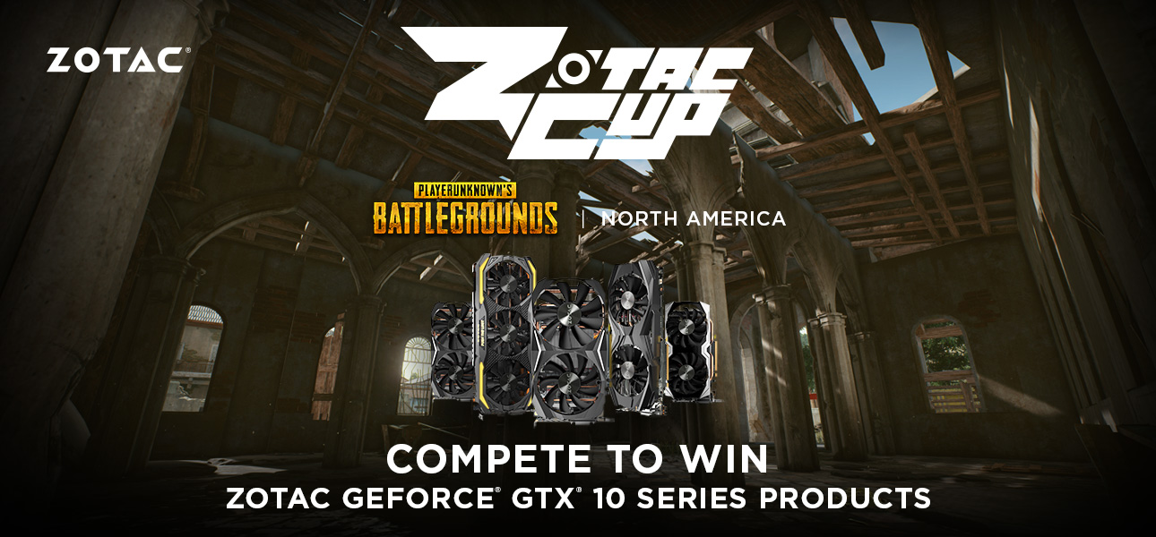 ZOTAC CUP - PUBG North America FPP Solo Open by ZOTAC CUP