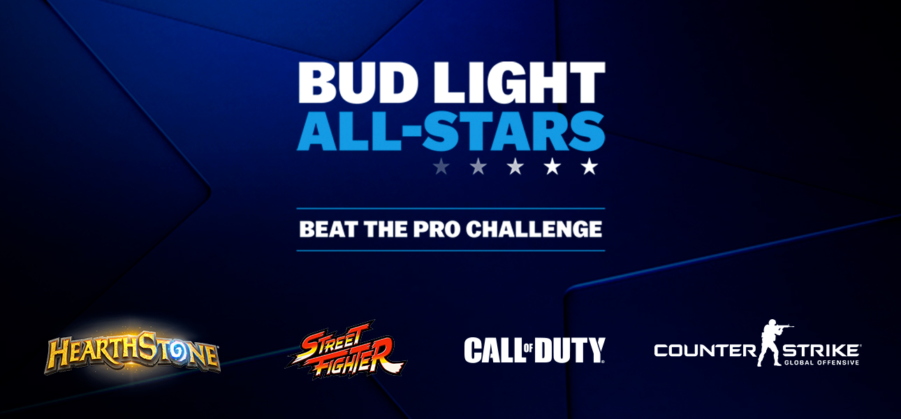 Bud Light All-Stars - Beat the Pro Challenge - 1v1 CSGO by