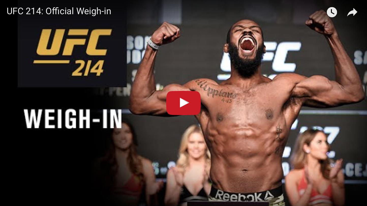 FIGHT NIGHT || UFC 214 live stream - Watch Daniel Cormier vs Jon
