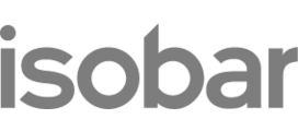 Isobar logo orange rgb