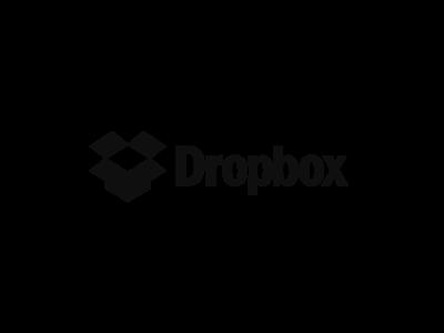 Dropbox logos dropbox logotype gray