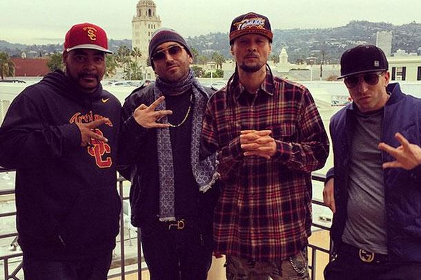 "Bone Thugs Member Bizzy Bone Battling At ""Ether"""