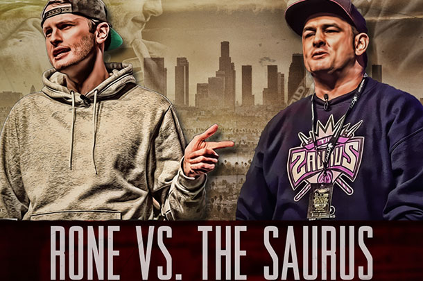 Rone vs. The Saurus: What To Expect