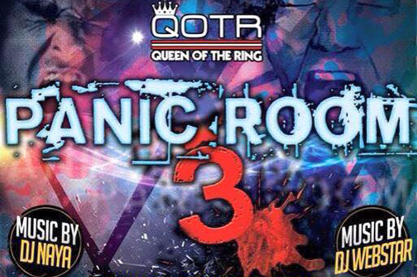 """Queen Of The Ring Preps For """"Panic Room 3"""""""