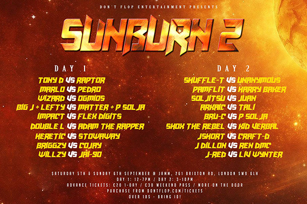Sunburn-2-Day-1-&-2-flyer