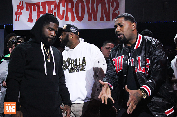 GO-Rilla Warfare Battle Rap: Aye Verb vs Tsu Surf