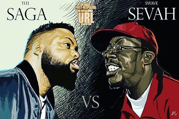 Smack/URL Rap Battle: Swave Sevah vs Th3 Saga