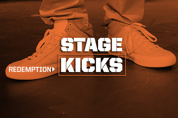 """Stage Kicks: The Shoes From """"Redemption"""""""