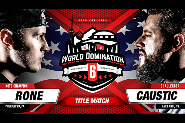 Live Updates From Rone vs. Caustic (KOTD Title Match)