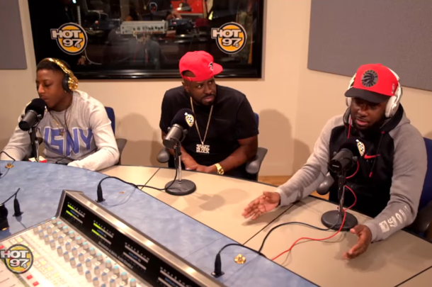 T-Rex and K-Shine Appear On Funkmaster Flex