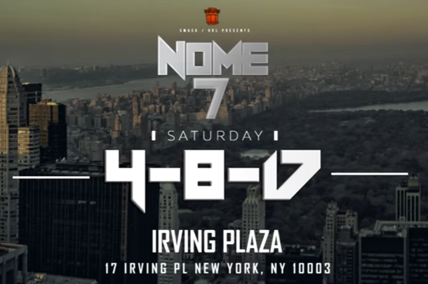 URL Announce NOME 7 Pay Per View