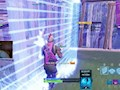 Ninja blocks himself and enemy in the storm for a no-kill win