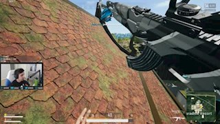 Shroud shoots Flying Car Hacker in PUBG