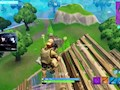 Fortnite Pre-aiming behind cover tactic