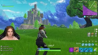 Fortnite High Wall Small Fence Snipe trick
