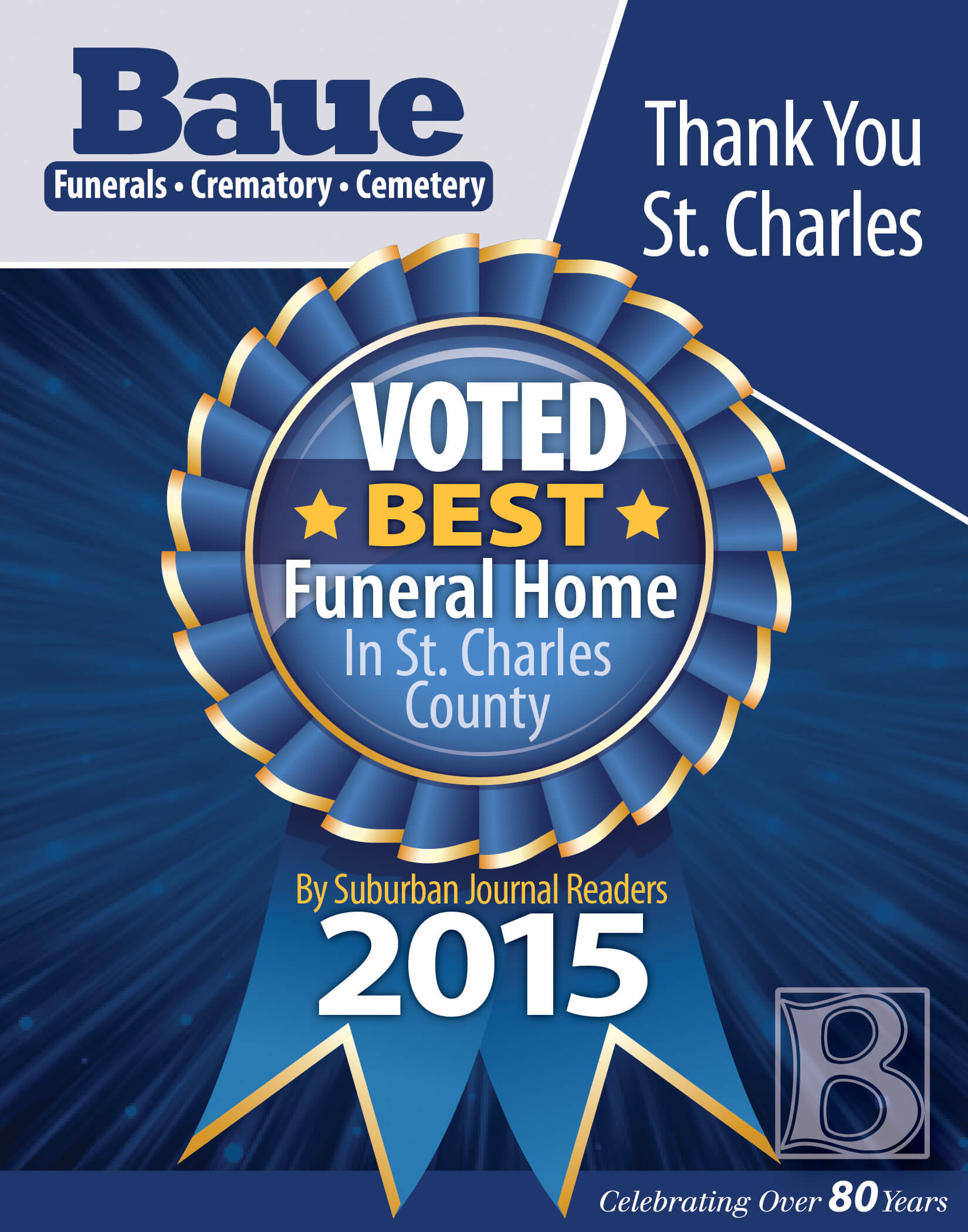 Voted 1 Funeral Home In St Charles County Baue Funeral Homes Blog