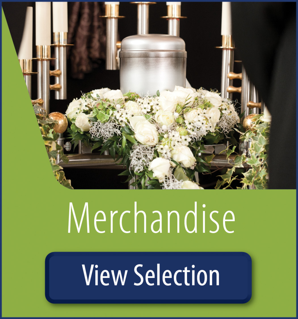 View our cremation merchandise