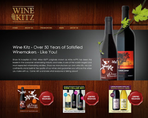 Winekitz website2
