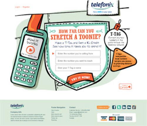 Telefonix handrawn