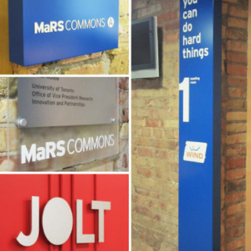 Mars commons signage