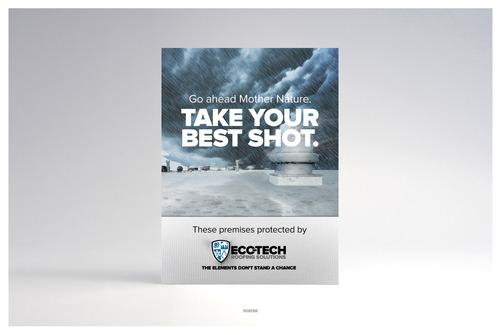 Eco tech   poster